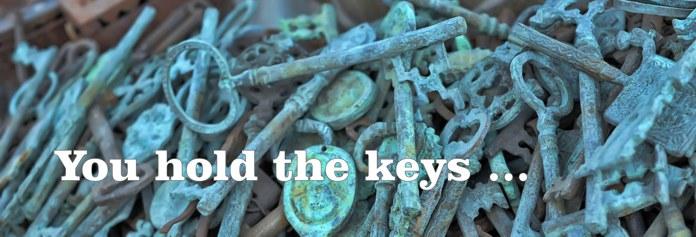 Spiritual Coaching, You Hold the Keys